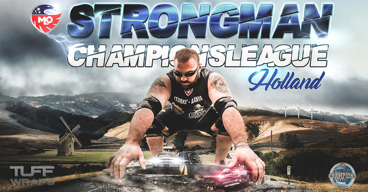 TuffWraps Becomes Official Kit Sponsor Of The Strongman Champions League