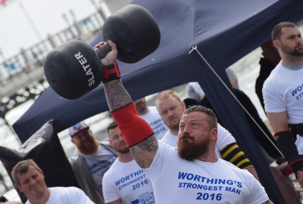 James Williams wins Worthings Strongest Man.....