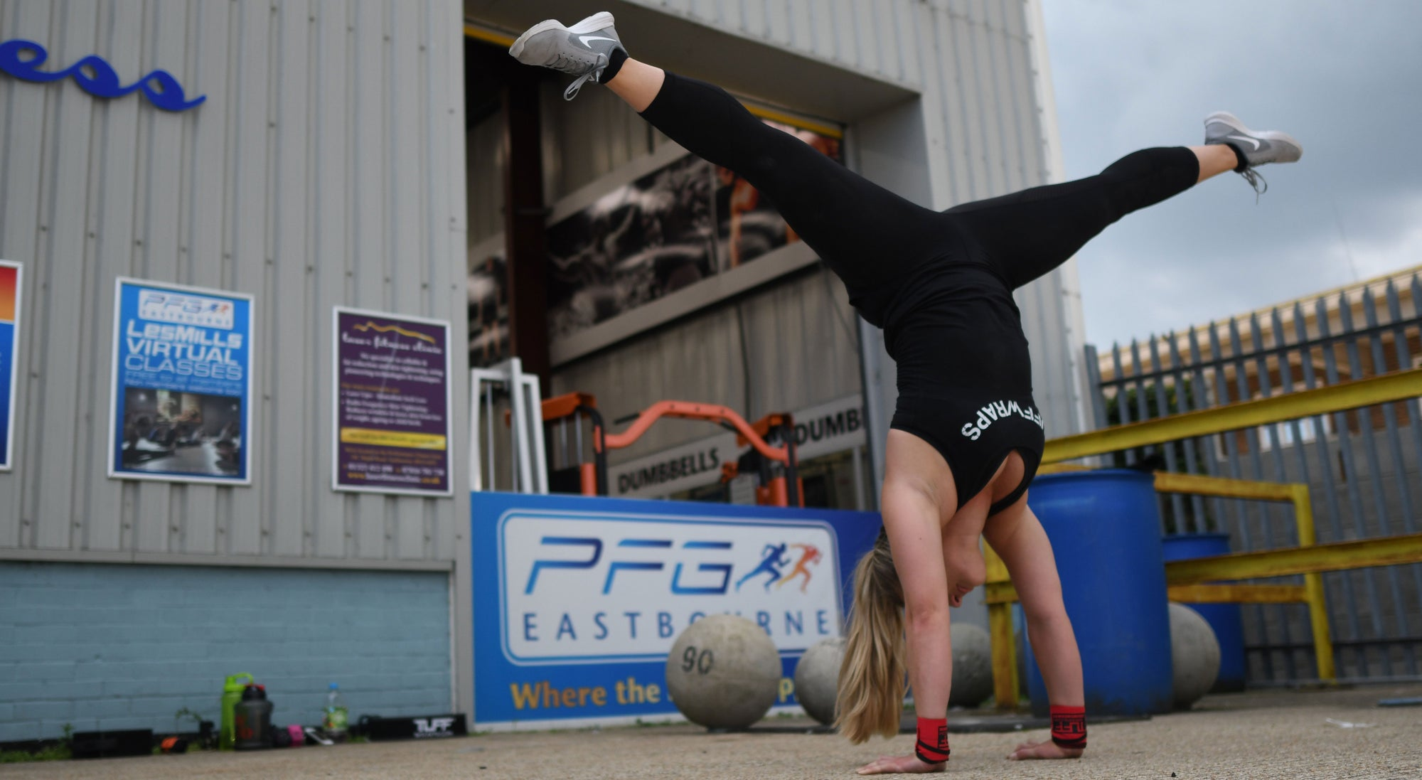 TuffWraps UK Team Day @ Performance Fitness Gym Eastbourne