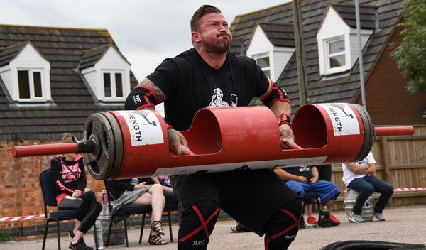 strongman axle press