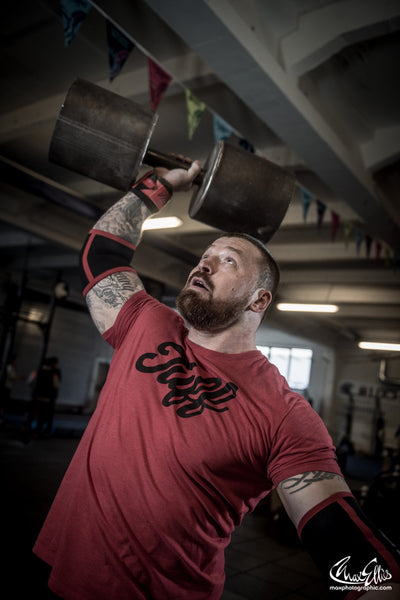 James Williams TuffWraps Strongman