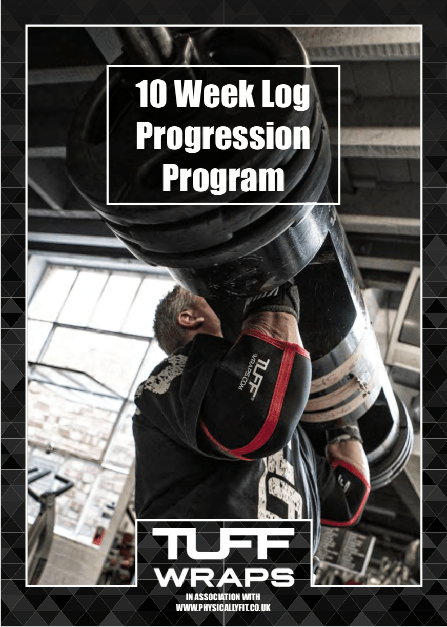 10 Week Log Press Progression Plan