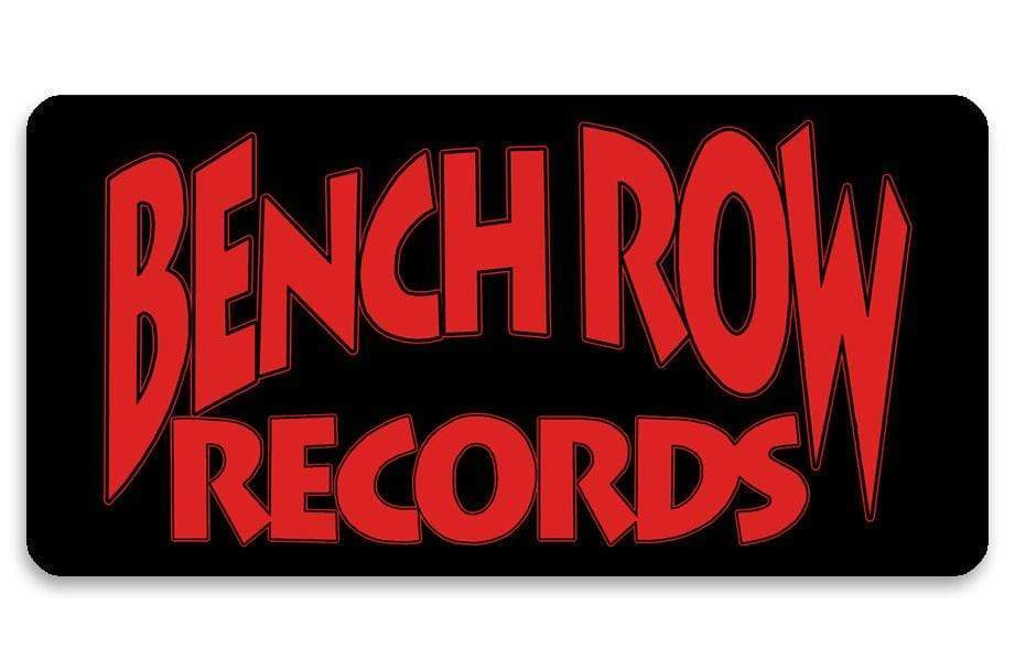 Bench Row Records Sticker