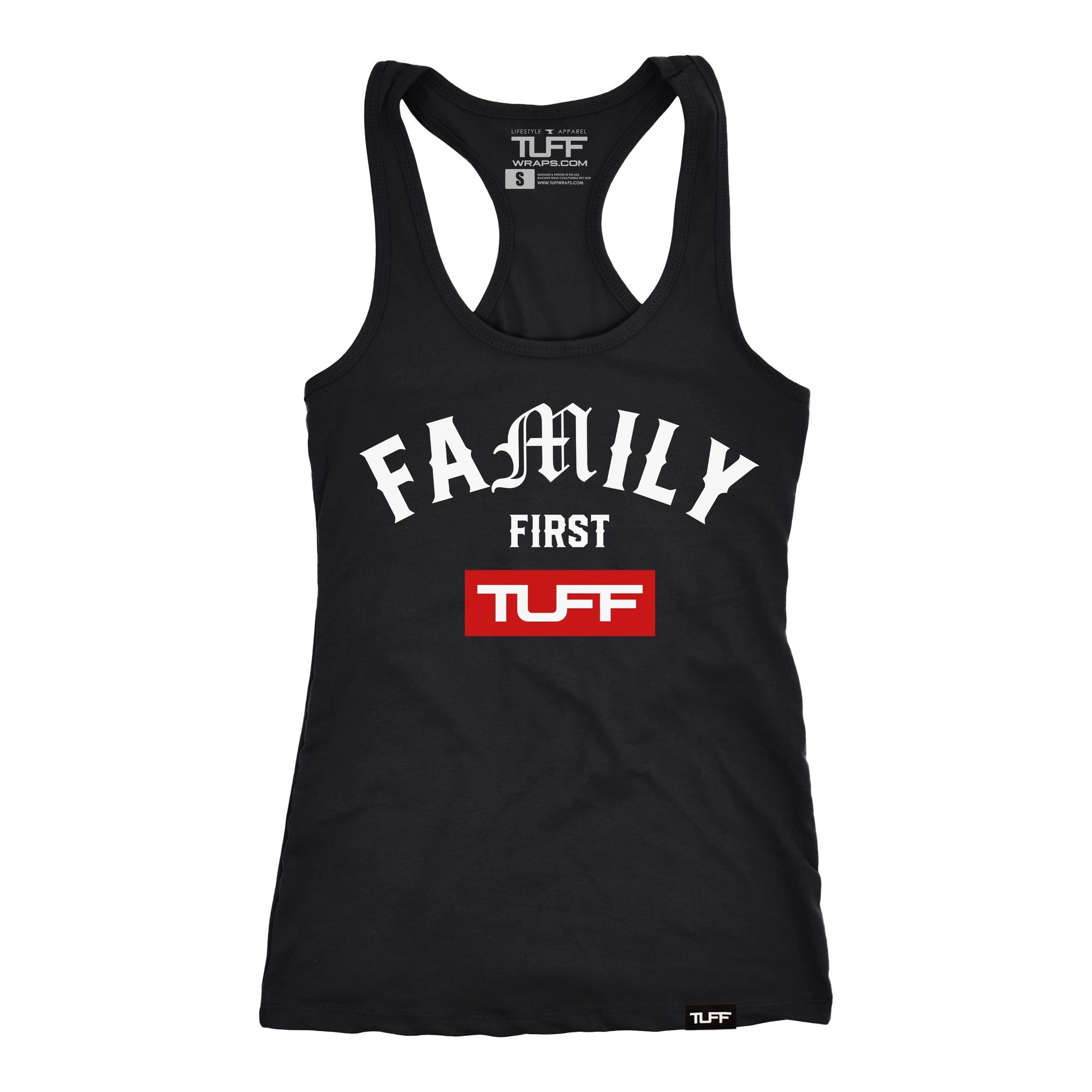 Family First Racerback Tank