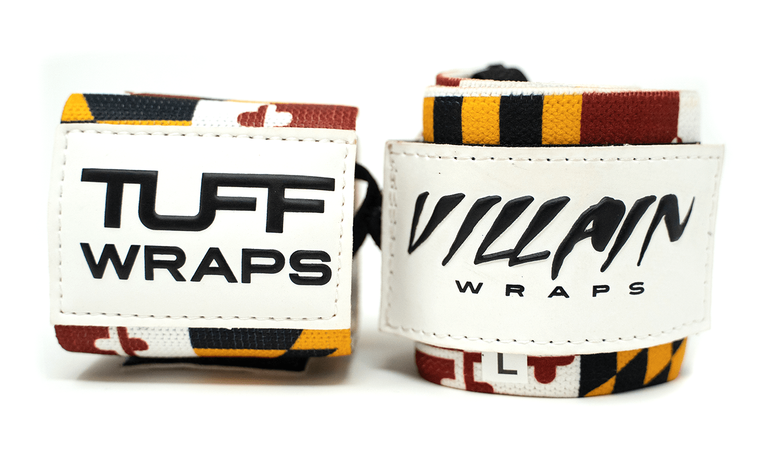 Maryland Villain Sidekick Wrist Wraps 16""