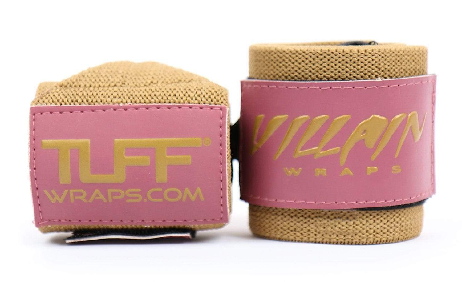 Rose & Gold Villain Sidekick Wrist Wraps 16""