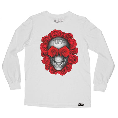 Skull Rose TUFF Long Sleeve Tee