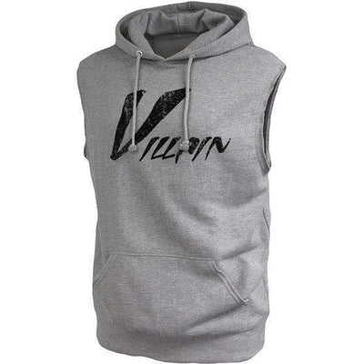 The Big V (Villain) Muscle Hooded Fleece