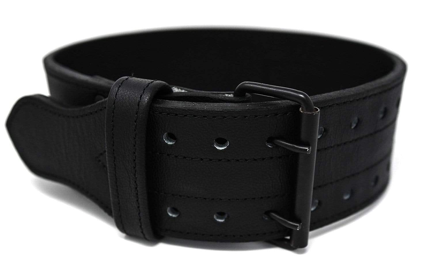 TUFF 10mm Double Prong Leather Weight Belt