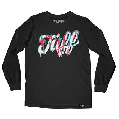 TUFF Script Melted Long Sleeve Tee