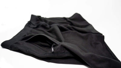 Villain Zipt™ Fleece Shorts - Black