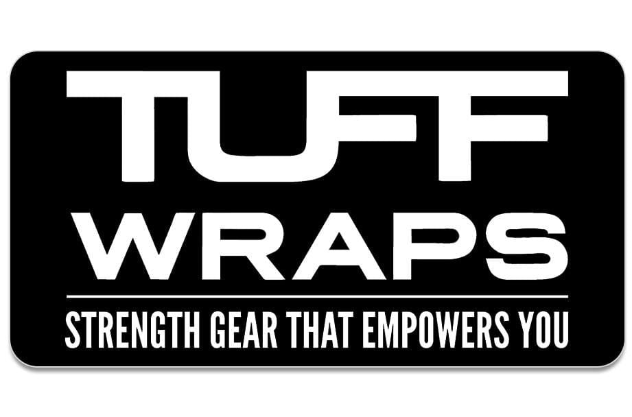 TuffWraps: Strength Gear That Empowers You Sticker