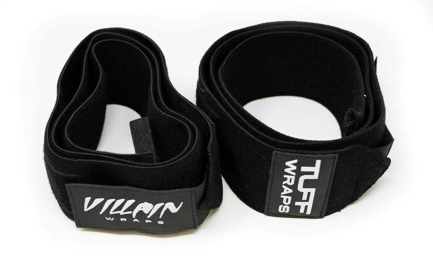 Villain Elbow Wraps - All Black