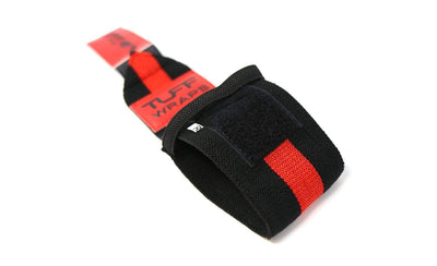 "Villain Sidekick Wrist Wraps 16"" (Black/Red)"