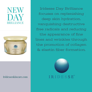 New Day Brilliance by Iridesse Skin Care.