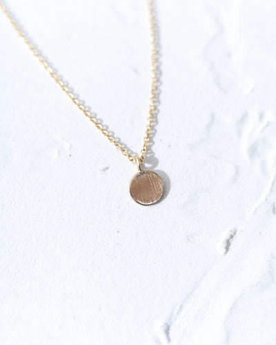 14k Gold Charm Necklace