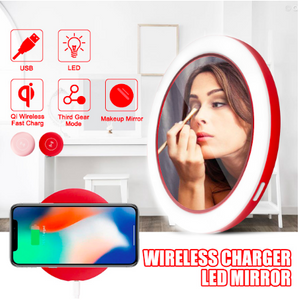 Ultimate Beauty™ LED Portable Makeup Mirror