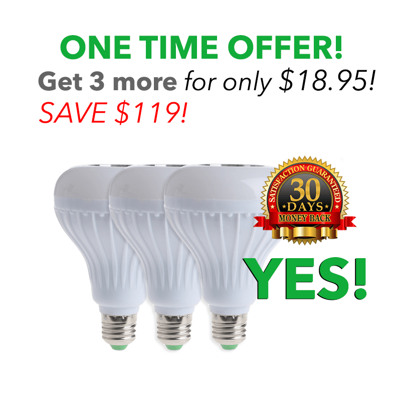 3 More! for only $18.95! each SAVE - $119!