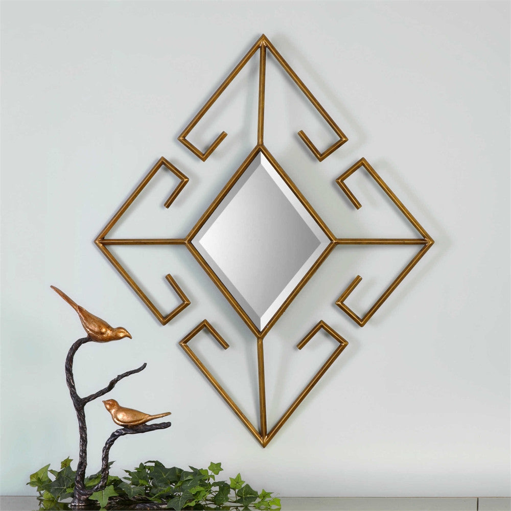 Uttermost Gaetano Diamond Mirror
