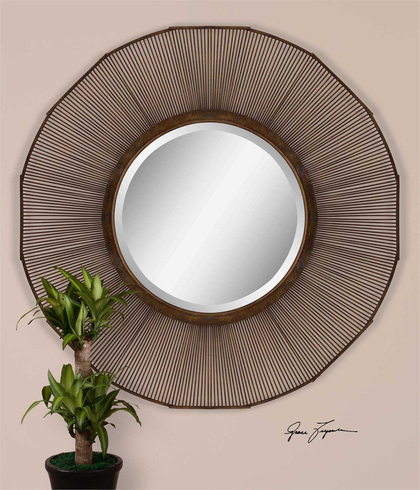 Uttermost Temecula Forged Metal Mirror