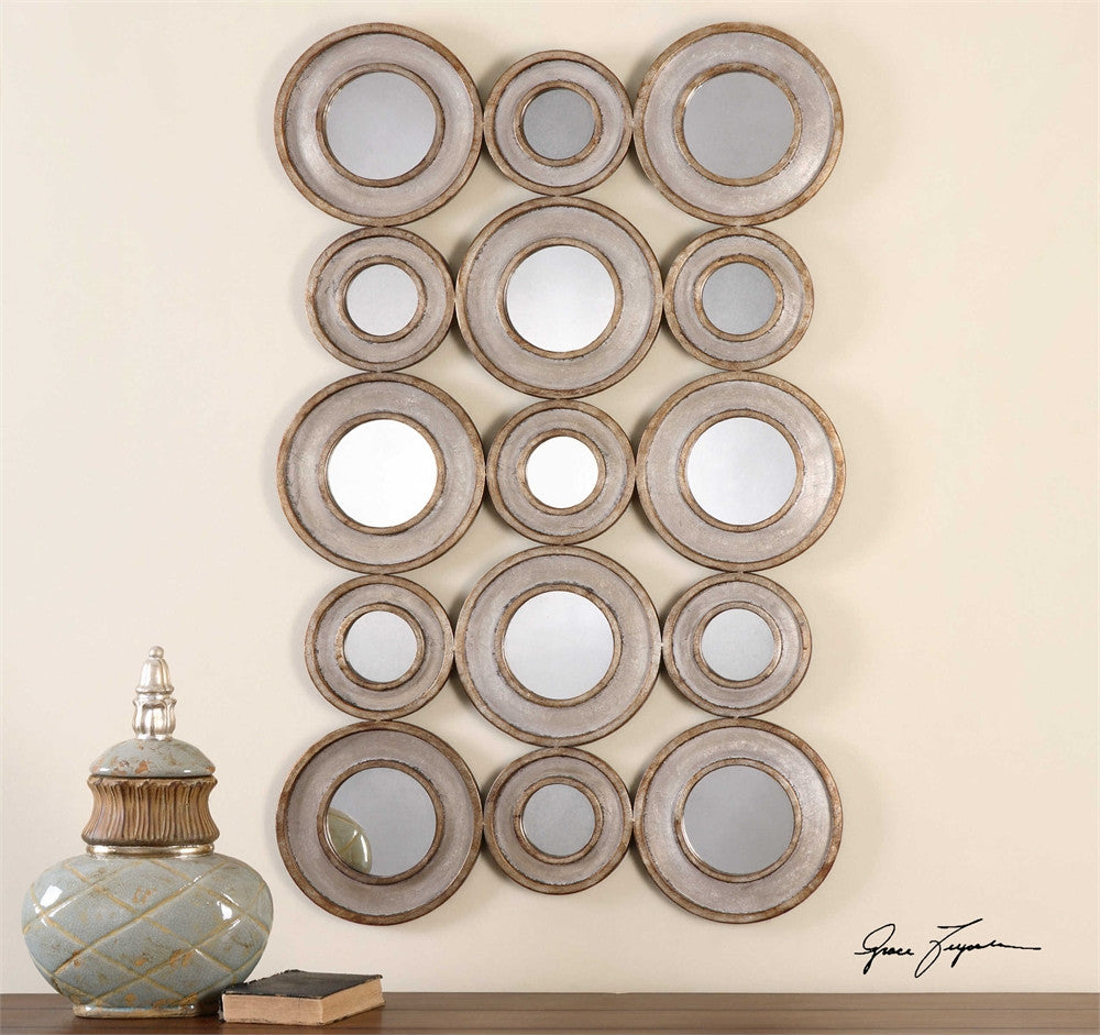 Uttermost Vobbia Metal Circles Mirror