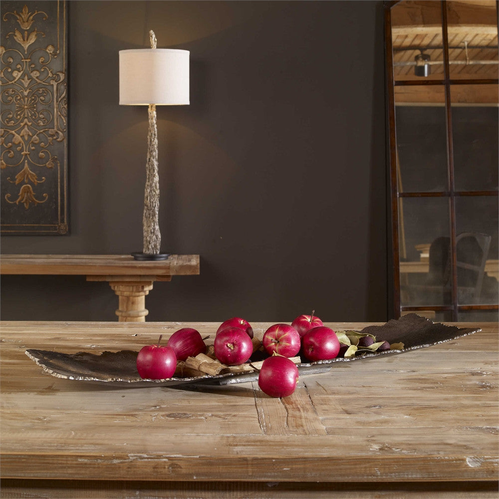 Uttermost Camilla Dark Nickel Tray