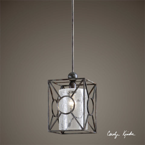Uttermost Arbela 1 Light Mini Pendant