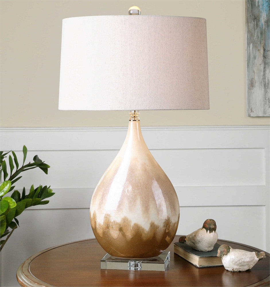 Uttermost Flavian Glazed Ceramic Lamp