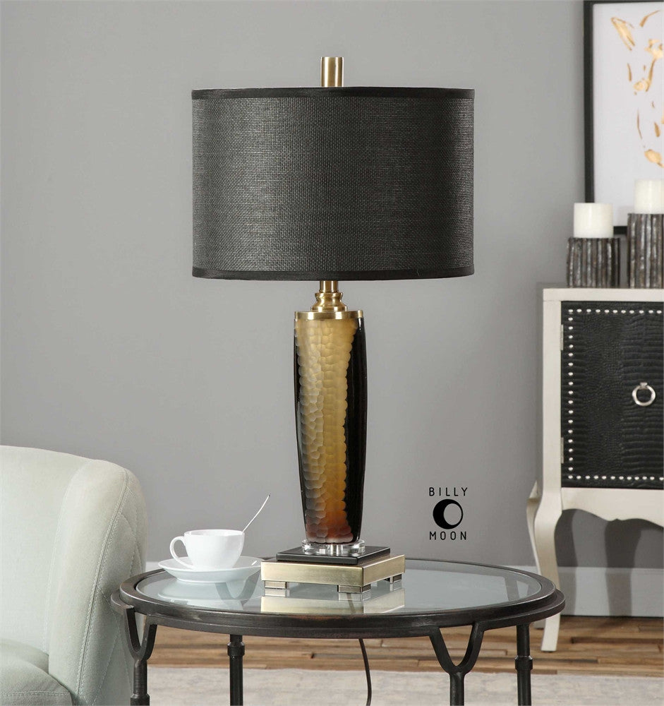 Uttermost Circello Textured Glass Table Lamp