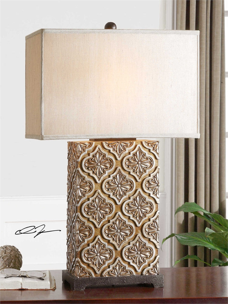 Uttermost Curino Golden Bronze Table Lamp