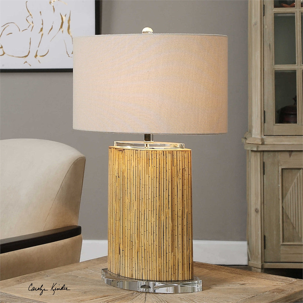 Uttermost Lurago Bamboo Table Lamp