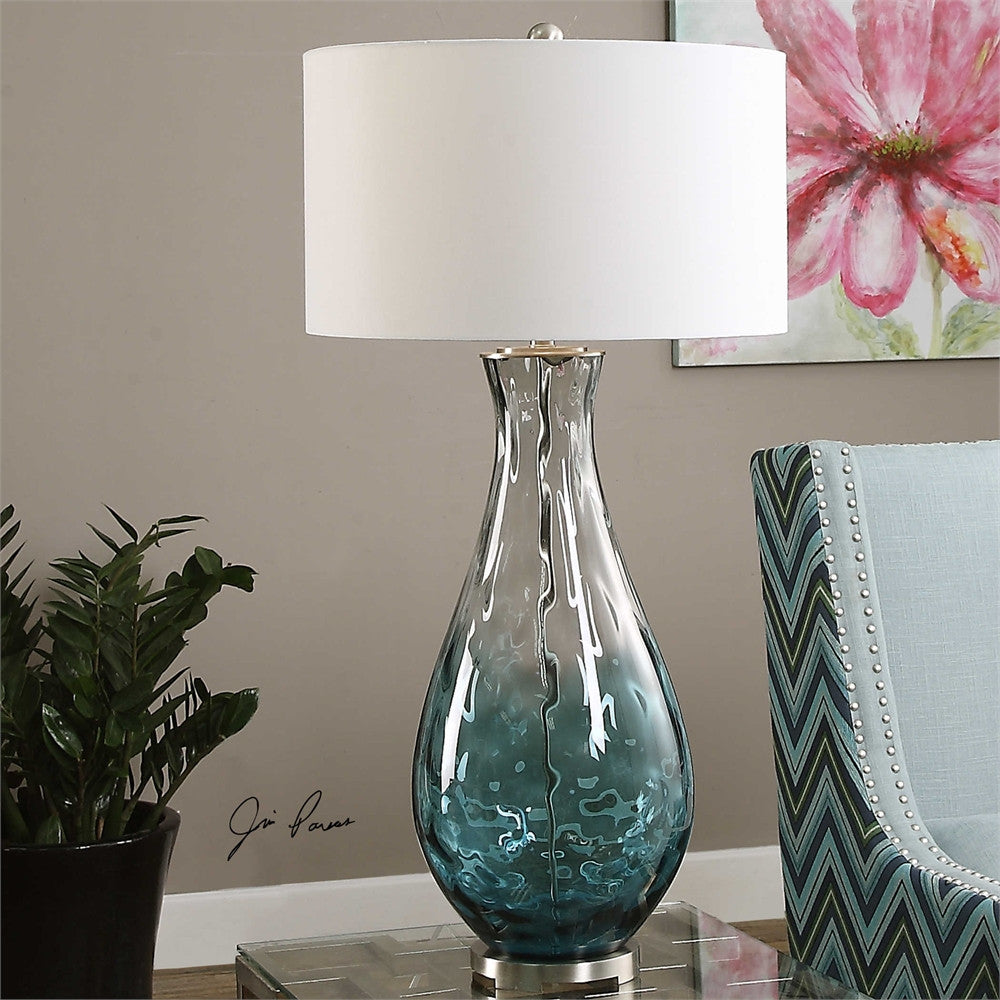 Uttermost Vescovato Water Glass Lamp
