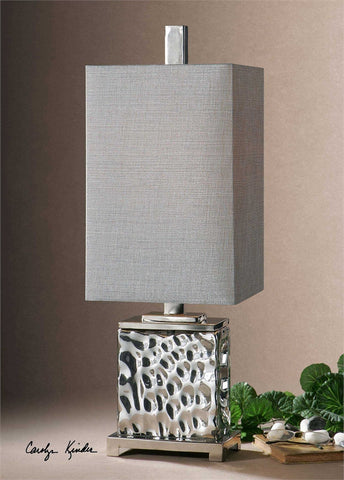 Uttermost Bashan Nickel Lamp