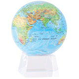 "Blue with Relief Map MOVA Globe - 4.5"" Diameter"