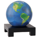 "Silver and Black Metallic MOVA Globe - 4.5"" Diameter"