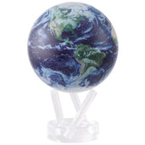 "Satellite View with Cloud Cover MOVA Globe - 6"" Diameter"