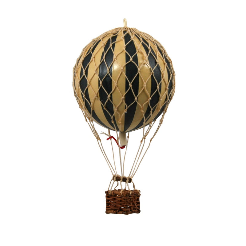 Hot Air Balloon - Black