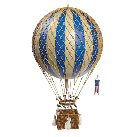 Hot Air Balloon - Blue