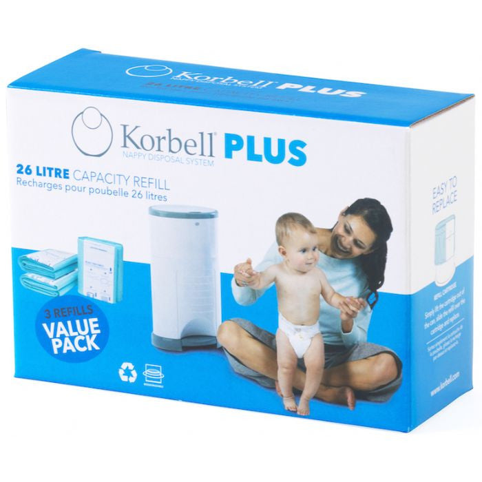 Korbell Plus 3 Pack Refill