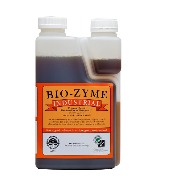 BIO-ZYME INDUSTRIAL - Enzyme Cleaner Based Deodoriser/ Degreaser