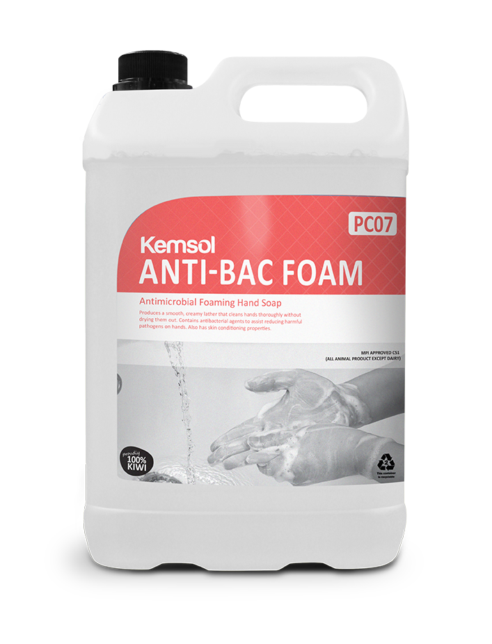 Anti-Bac Foam