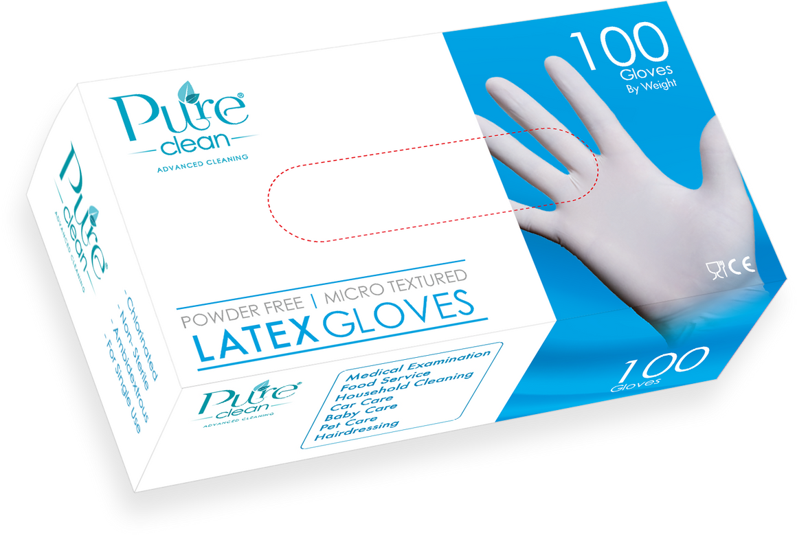 Pure Clean Latex Gloves