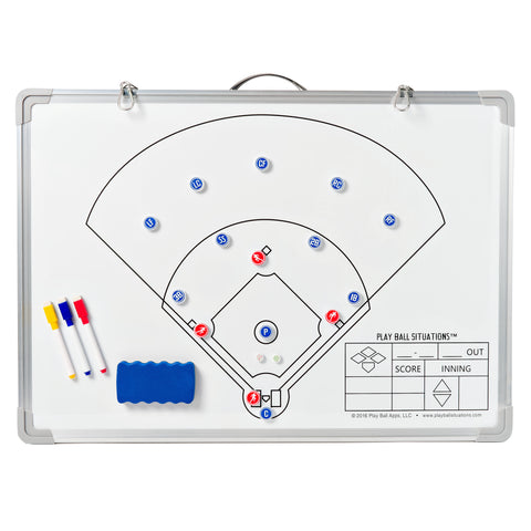 Baseball Situations Coaches Board