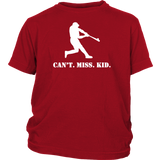 Can't Miss Kid (RHH) - Youth T-Shirt (White)