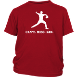 Can't Miss Kid (LHP) - Youth T-Shirt (White)