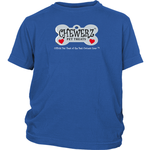 Chewerz Youth Short Sleeve T-Shirt (Colors)