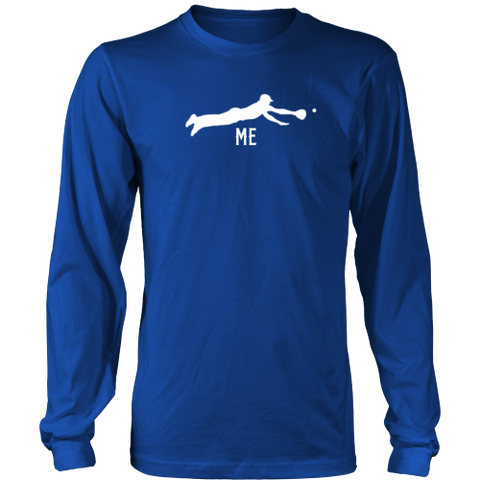 """Me"" Adult Long Sleeve T-Shirt"