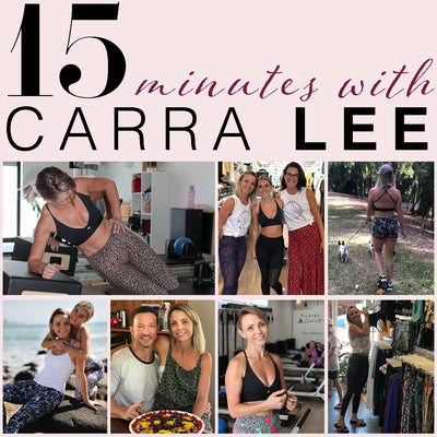 15 Minutes With Carra Lee