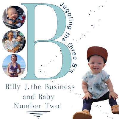 Juggling The Three B's: Billy J, the Business and Baby Number Two!