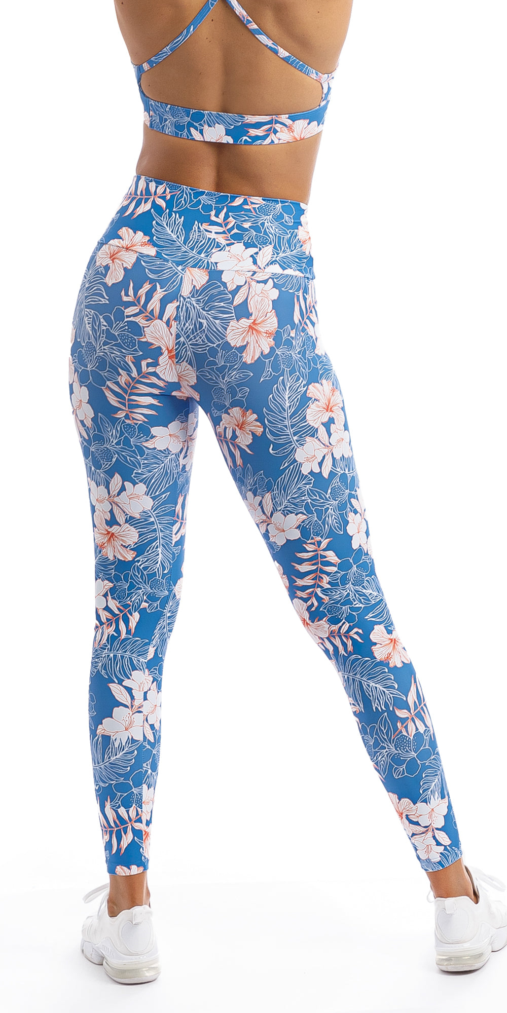 Hibiscus Kiss Ultra High Waist Leggings